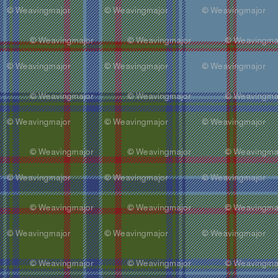 Maine official (Dirigo) tartan, antique colors
