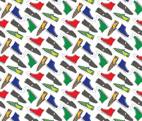 Shoes fabric by lprspr on Spoonflower - custom fabric
