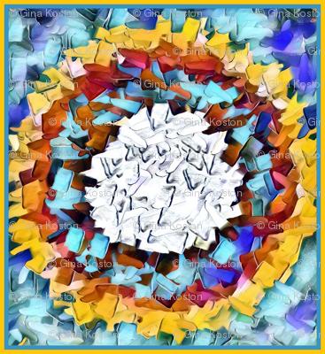 Color Splat Tiles