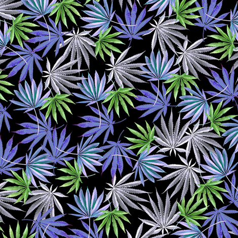 420 Blue Fling fabric by camomoto on Spoonflower - custom fabric
