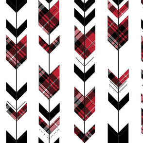 fletching arrows plaid || the happy camper collection