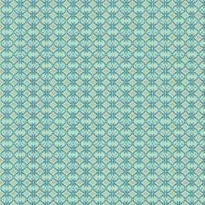 Aquatic Silicone Quatrefoil