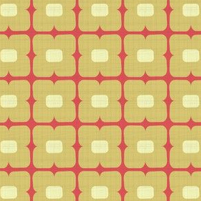 Square_floral yellow