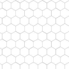 honeycomb bw