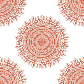 Medallion White Coral