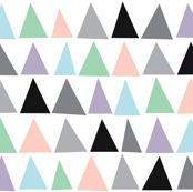 Triangles Pastel Color by Minikuosi