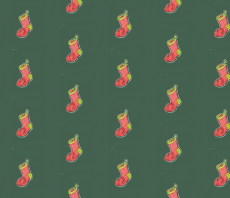 Magicstocking fabric by luvinewe on Spoonflower - custom fabric