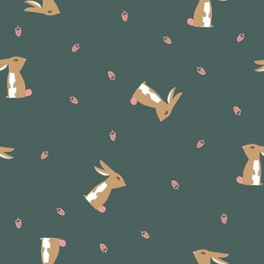 rabbit acorn green