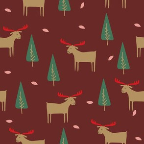 moose maroon