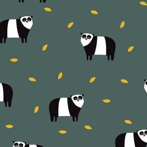 panda green