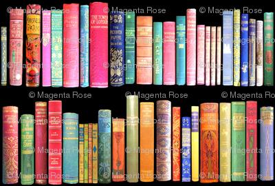 Antique Books // Vintage Bookshelf/ victorian
