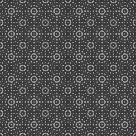 Gray Concentric Circles fabric by gingezel on Spoonflower - custom fabric