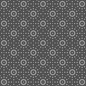 Gray Concentric Circles