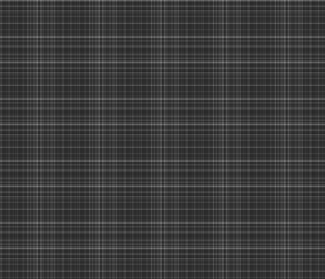 Charcoal Gray Plaid fabric by gingezel on Spoonflower - custom fabric