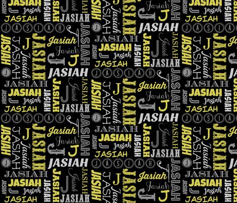 Jasiah2 fabric by pamelachi on Spoonflower - custom fabric