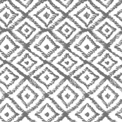 IKAT SCRIBBLE GRAY