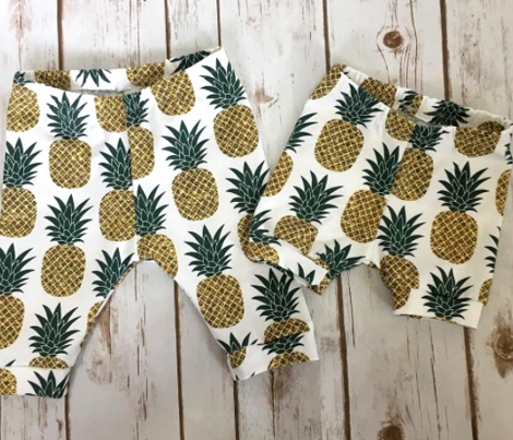 gold glitter pineapples – gold and jungle green on white, medium. pineapples faux gold imitation tropical white background hot summer fruits shimmering metal effect texture fabric wallpaper giftwrap
