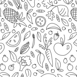 Veggie Garden Outlines