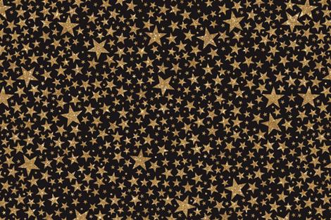 Starry Sky- Night fabric by cynthiafrenette on Spoonflower - custom fabric