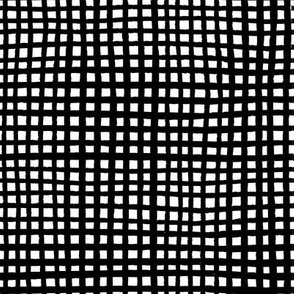 Large Ugly Grid - B&W