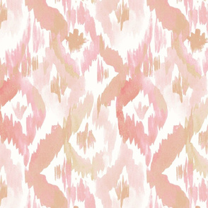 Blush ikat diamonds