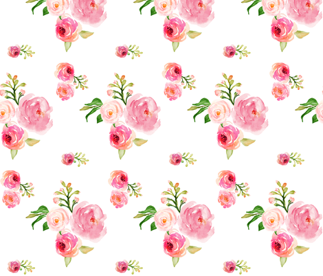 "Roses for Julie 7"" fabric by shopcabin on Spoonflower - custom fabric"