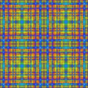 Mock Orange Leaf Plaid 2