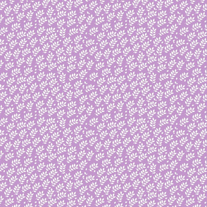 tiny lilac branches