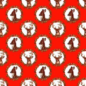 buck_n_doe_circles_red_6x6