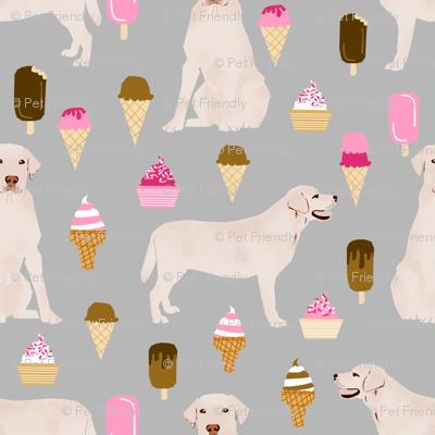 labrador ice creams cute dogs and ice cream fabric ice cream yellow labs