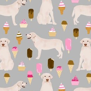 labrador ice creams cute dogs and ice cream fabric ice cream yellow labs