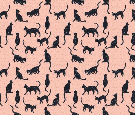 bebe_kitten fabric by holli_zollinger on Spoonflower - custom fabric
