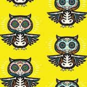 Sugar owls skull