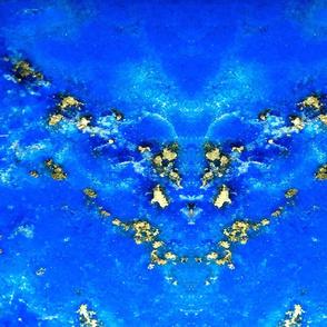 Unfolded Lapis Lazuli Fat Quarter