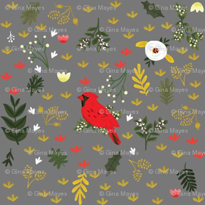 Cardinals - Warm Gray