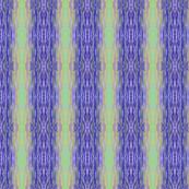 Blue Moonlit Ripples - Vertical Stripes, Medium Scale