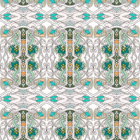 Squirm Tiny fabric by edsel2084 on Spoonflower - custom fabric