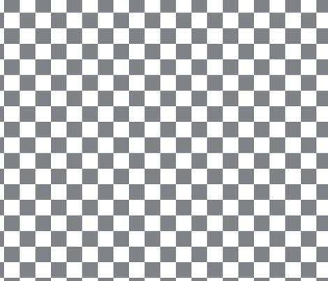 Retro Vintage 50s Check || Gray Grey White Squares Geometric _Miss Chiff Designs  fabric by misschiffdesigns on Spoonflower - custom fabric