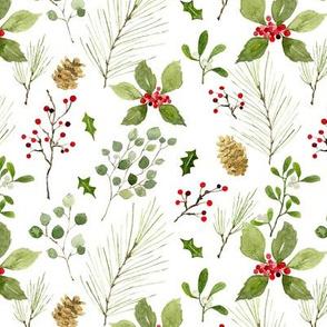 Christmas foliage