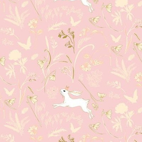 Enchanted Bunny Prince (blush) SMALL