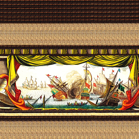 ships fabric by lbehrendtdesigns on Spoonflower - custom fabric
