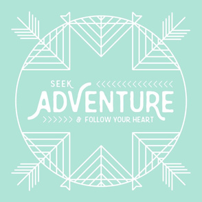 Seek Adventure Lovey - Colorful