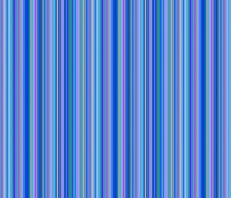Serenity Stripes fabric by floramoon on Spoonflower - custom fabric