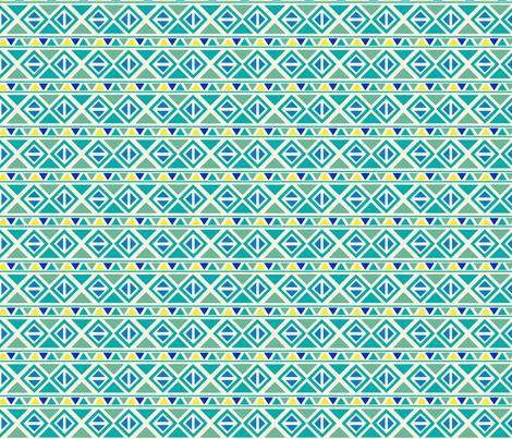 Triangle Stripe fabric by mariafaithgarcia on Spoonflower - custom fabric