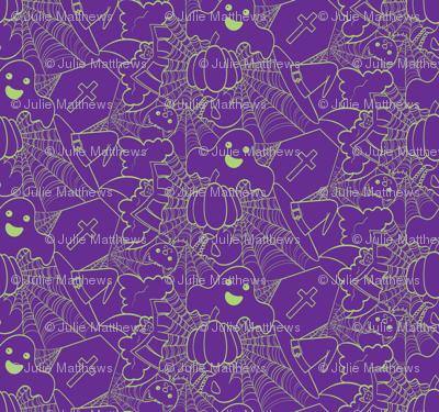 Cute Halloween - Purple and Green
