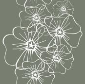 Linnen Lines (grey olive)