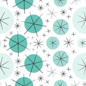 Aster-rific (Aqua)