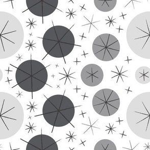 Aster-rific (Grey)