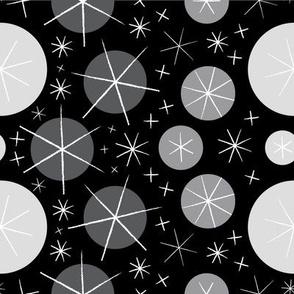 Aster-rific (Black & Grey)