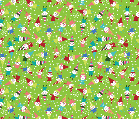 sELFie Sockhop  fabric by cynthiafrenette on Spoonflower - custom fabric